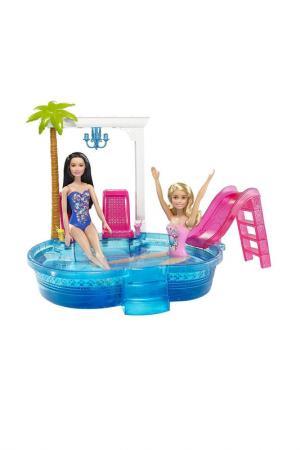 Гламурный бассейн Барби Barbie. Цвет: голубой