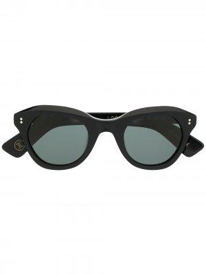 Солнцезащитные очки Looping 5 Lesca. Цвет: черный