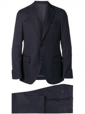 Delloglio классический костюм узкого кроя Dell'oglio. Цвет: синий