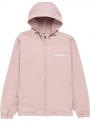 Спортивная куртка с вышитым логотипом Stadium Goods. Цвет: розовый