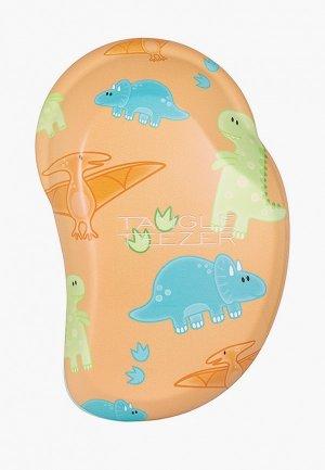 Расческа Tangle Teezer The Original Mini Mighty Dino. Цвет: оранжевый