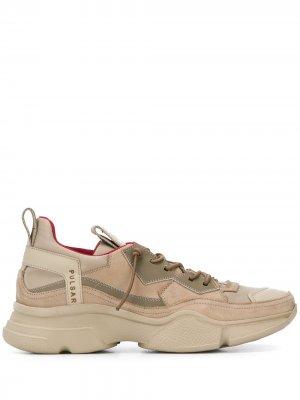 Кроссовки на шнуровке Bruno Bordese. Цвет: нейтральные цвета