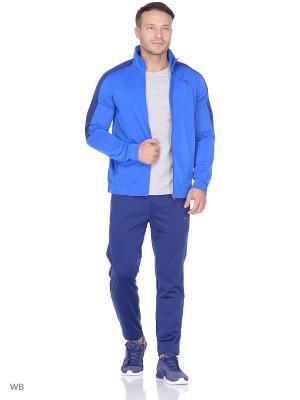Костюм спортивный  Techstripe Tricot Suit cl PUMA. Цвет: голубой, синий