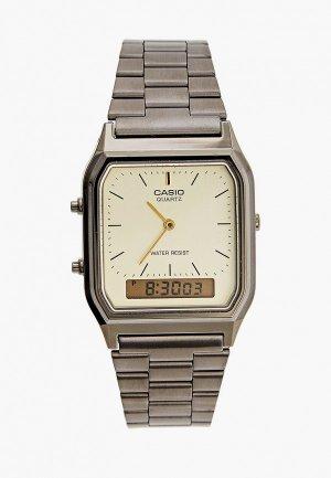 Часы Casio Collection AQ-230EGG-9AEF. Цвет: серебряный
