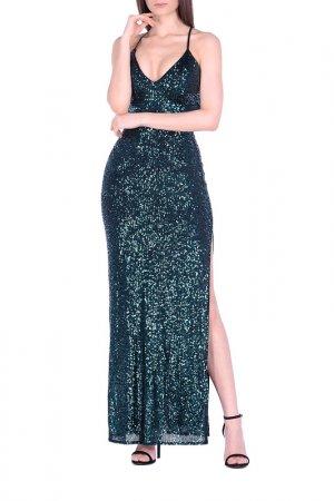 Вечернее платье Joymiss. Цвет: зеленый