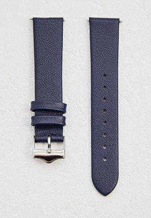 Ремешок для часов Signature. Цвет: синий