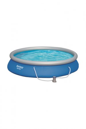 Бассейн с надувным бортом BestWay. Цвет: синий