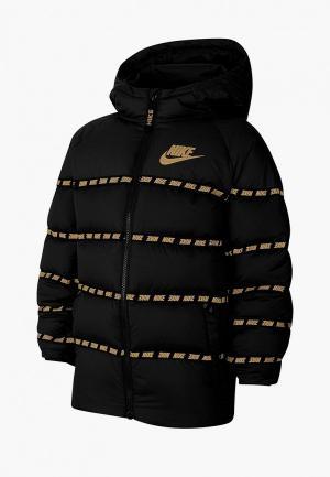 Пуховик Nike U NSW DOWN JKT. Цвет: черный