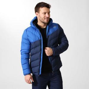 Утепленная куртка Reebok. Цвет: collegiate navy / vital blue