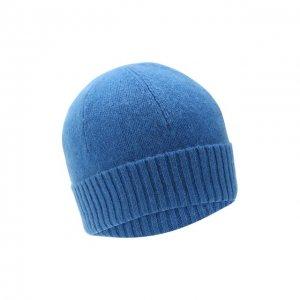 Кашемировая шапка Allude. Цвет: синий