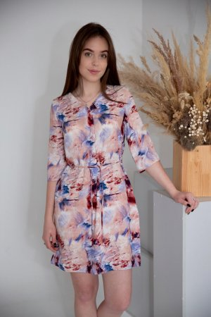 Платье-туника Lika dress. Цвет: мультиколор