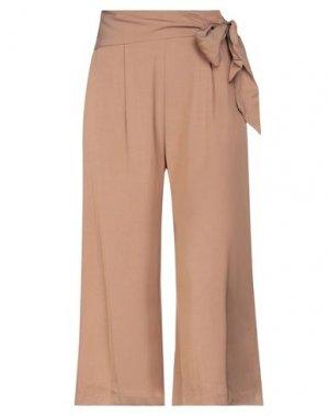 Повседневные брюки GAUDÌ. Цвет: верблюжий