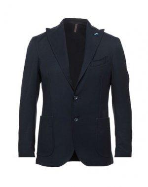 Пиджак LABORATORI ITALIANI. Цвет: темно-синий