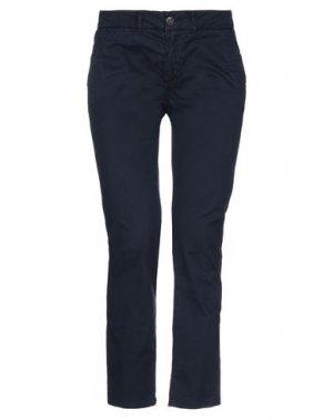 Повседневные брюки FRANKLIN & MARSHALL. Цвет: темно-синий