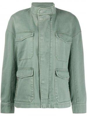 Джинсовая куртка Closed. Цвет: зеленый