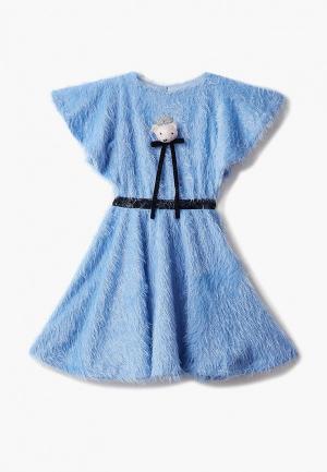 Платье Choupette. Цвет: голубой