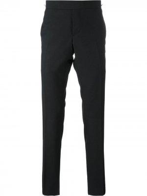 Узкие костюмные брюки Thom Browne. Цвет: синий