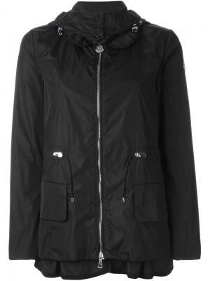 Куртка-ветровка с капюшоном Moncler. Цвет: чёрный