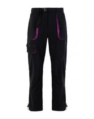 Повседневные брюки COLUMBIA. Цвет: черный