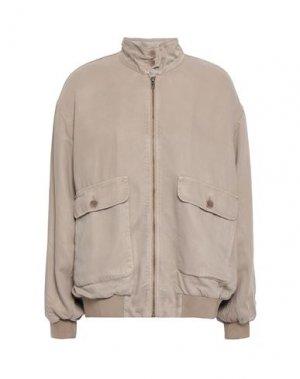 Куртка AMERICAN VINTAGE. Цвет: голубиный серый