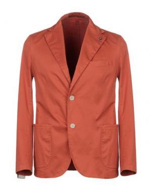 Пиджак GABARDINE. Цвет: оранжевый