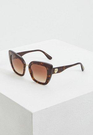 Очки солнцезащитные Dolce&Gabbana DG4359 502/13. Цвет: коричневый
