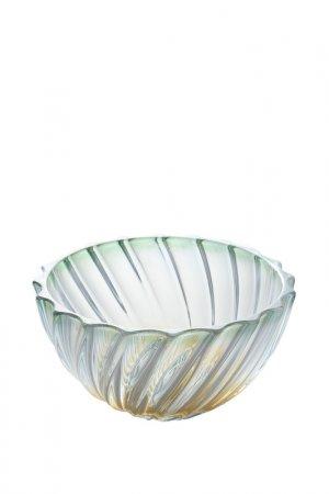 Фруктовница 28 см Bohemia. Цвет: зеленый, прозрачный