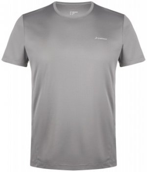 Футболка мужская , размер 46 Demix. Цвет: серый