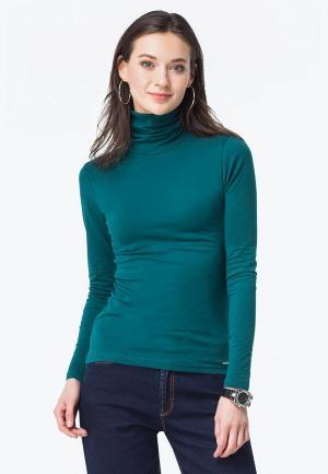 Водолазка Vilatte. Цвет: зеленый