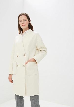 Пальто EMI. Цвет: белый