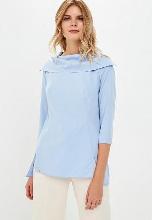 Блуза EMI. Цвет: голубой