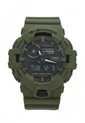Часы Casio G-SHOCK GA-700UC-3A. Цвет: зеленый