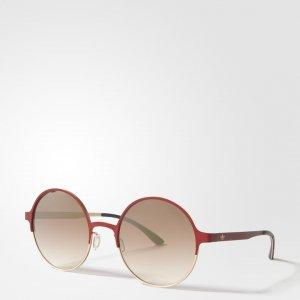 Солнцезащитные очки AOM004 Originals adidas. Цвет: красный