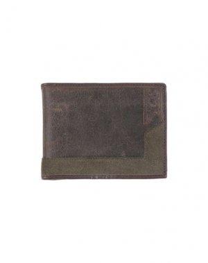 Бумажник ICE ICEBERG. Цвет: темно-коричневый