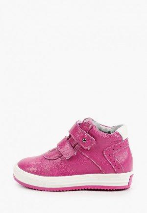 Ботинки Elegami. Цвет: розовый