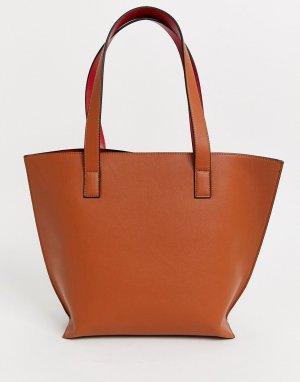 Большая светло-коричневая сумка-тоут -Светло-коричневый Truffle Collection