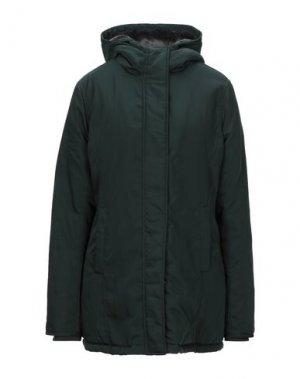 Пальто REFRIGUE. Цвет: темно-зеленый