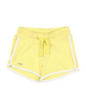 Повседневные шорты iDO by MINICONF. Цвет: желтый