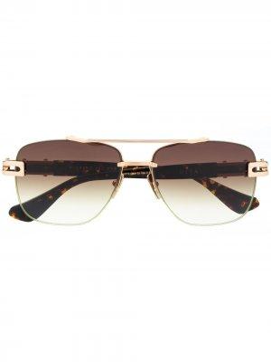 Солнцезащитные очки Grand-Evo One Dita Eyewear. Цвет: коричневый