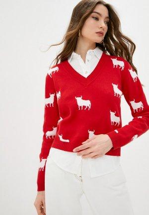 Пуловер LAutre Chose L'Autre. Цвет: красный