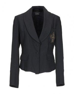 Пиджак ISABEL DE PEDRO. Цвет: черный