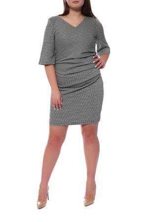 Платье Kaffe. Цвет: светло-серый, черный