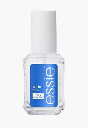 Базовое покрытие Essie комплексный уход для ногтей All in one base, 13.5 мл. Цвет: прозрачный