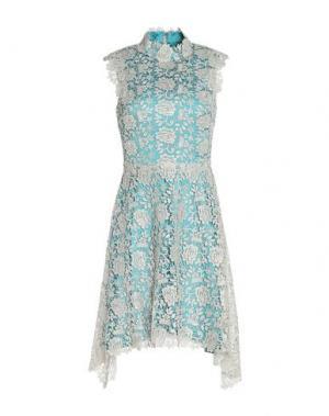 Короткое платье CATHERINE DEANE. Цвет: светло-серый