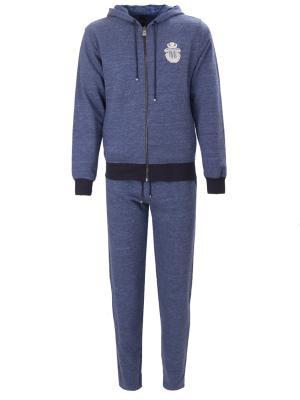 Спортивный костюм BILLIONAIRE. Цвет: синий