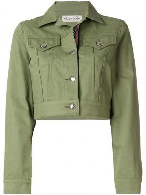 Укороченная джинсовая куртка Être Cécile