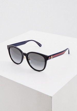 Очки солнцезащитные Gucci GG0854SK. Цвет: черный