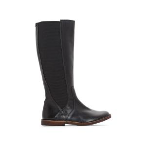 Сапоги кожаные Titien KICKERS. Цвет: черный