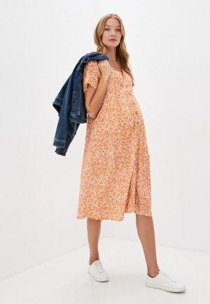Платье Cotton On. Цвет: оранжевый