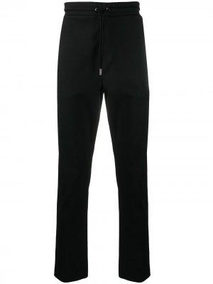 Спортивные брюки кроя слим Boss Hugo. Цвет: черный